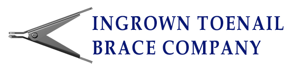 Ingrown Toenail Brace Company Logo